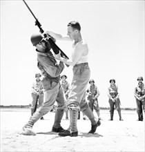 army, military, training, World War II, historical,