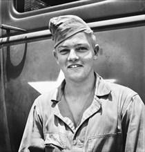 man, soldier, military, World War II, historical,