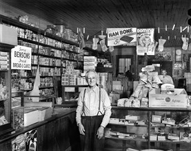man, occupations, retail, general store, historical,