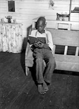 boy, reading, school, education, historical,