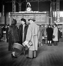 travel, Union Station, Chicago, World War II, historical,