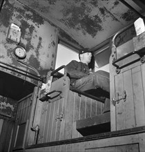 man, occupations, railroad, World War II, historical,