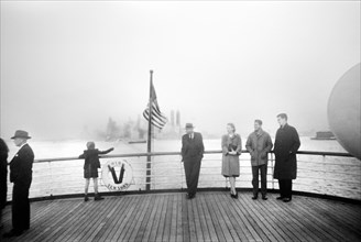 ship, harbor, travel, New York City, historical,