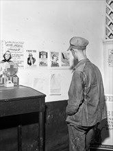 man, military, recruitment, World War II, historical,