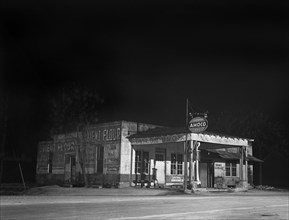 gas station, small business, finance and economy, gasoline, historical,