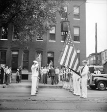 World War II, funeral, death, merchant marine, historical,