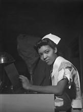 woman, African-American ethnicity, medical, nurse, historical,