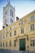 Lycée Henri IV et la tour Clovis, Paris