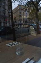 Paris, restaurant closed due to the Covid-19 pandemic