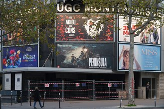 Paris, UGC Montparnasse cinema closed due to the Covid-19 pandemic