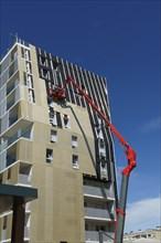 Grands travaux de construction d'immeubles, Le Mans