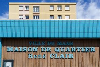 Maison de quartier René Clair, Le Mans