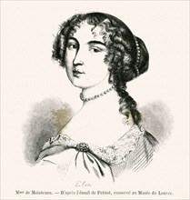 Madame de Maintenon (Françoise d'Aubigné) - (1635-1719) -