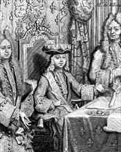 Le roi Louis XV enfant. en 1717.