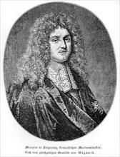 Jean-Baptiste Colbert, marquis de Seignelay. Fils du grand Colbert