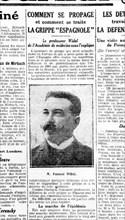 1918. L'épidémie de grippe espagnole
