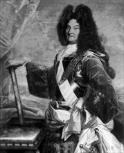 Louis XIV, roi de France (1638-1715).