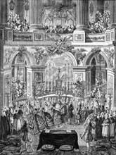 Mariage de Marie-Antoinette et du Dauphin, futur Louis XVI