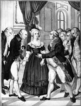 La reine Marie-Antoinette reçoit à Versailles son frère Joseph II