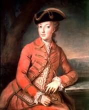 Kucharsky, La reine Marie-Antoinette en habit de chasse