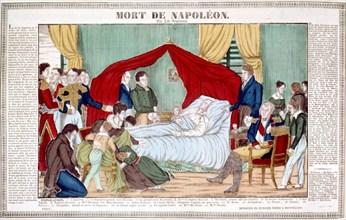 Mort de Napoléon 1er à Sainte-Hélène