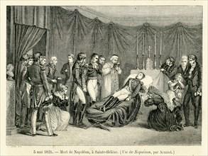 Mort de Napoléon à Sainte-Hélène, le 5 mai 1821