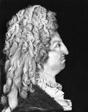 Profil de cire représentant Louis XIV.
