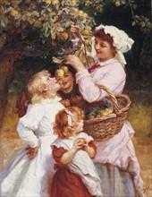 Morgan, Picking Apples