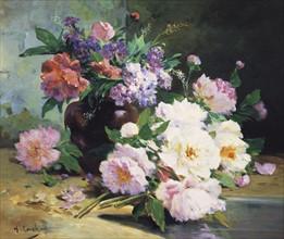 Cauchois, A Still Life of Beautiful Flowers