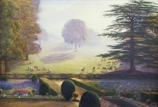Wenlock, The Garden at Escrick Hall