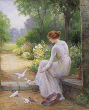 Walbourn, Feeding the Doves
