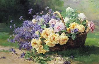 Lavault, Basket of Flowers