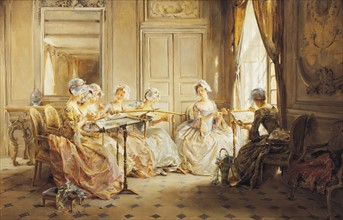 Lemaire, The Embroidery Lesson