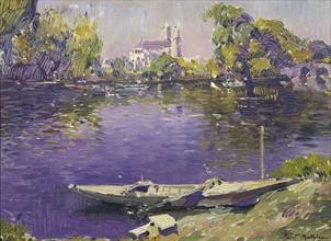 Mathieu, The River Seine at Mantes
