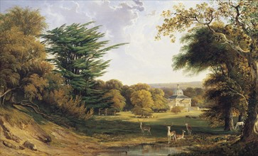 Tennant, A View of Mereworth Castle and Park