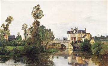 Levis, The Bridge of Mortain in St Hilaire
