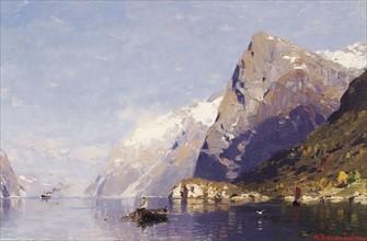 Rassmussen, The Ice-Blue Fjord