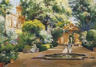 Rodriquez, A Garden in Seville