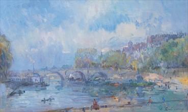 Lebourg, Le Pont Marie in Paris