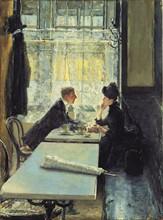 Kuehl, Lovers in a Café