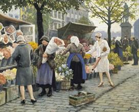 Fischer, Flower Market at Hojbro Plads