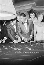 Charles Aznavour, Régine et Henri Salvador, 1965