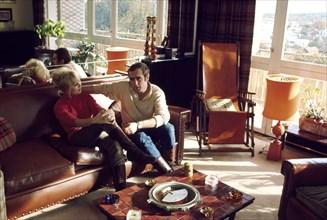 Mylène Demongeot et Marc Simenon, 1968