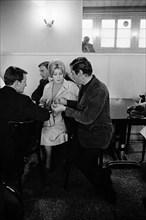 Jean-Louis Trintignant, Catherine Deneuve et Roger Vadim, 1963
