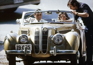 Romy Schneider et Victor Lanoux, 1976