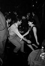 Régine et Sacha Distel, 1961