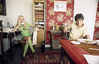 France Gall et son frère Patrice, 1968