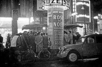 Vie nocturne à Paris, 1958