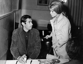 Catherine Deneuve et Roger Vadim, 1963