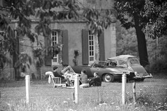 Françoise Sagan, 1963